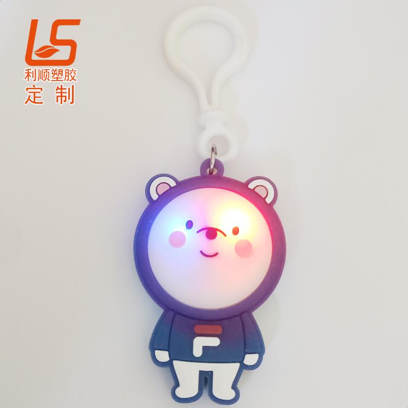 硅胶LED背包警示灯斐乐背包灯 (1)