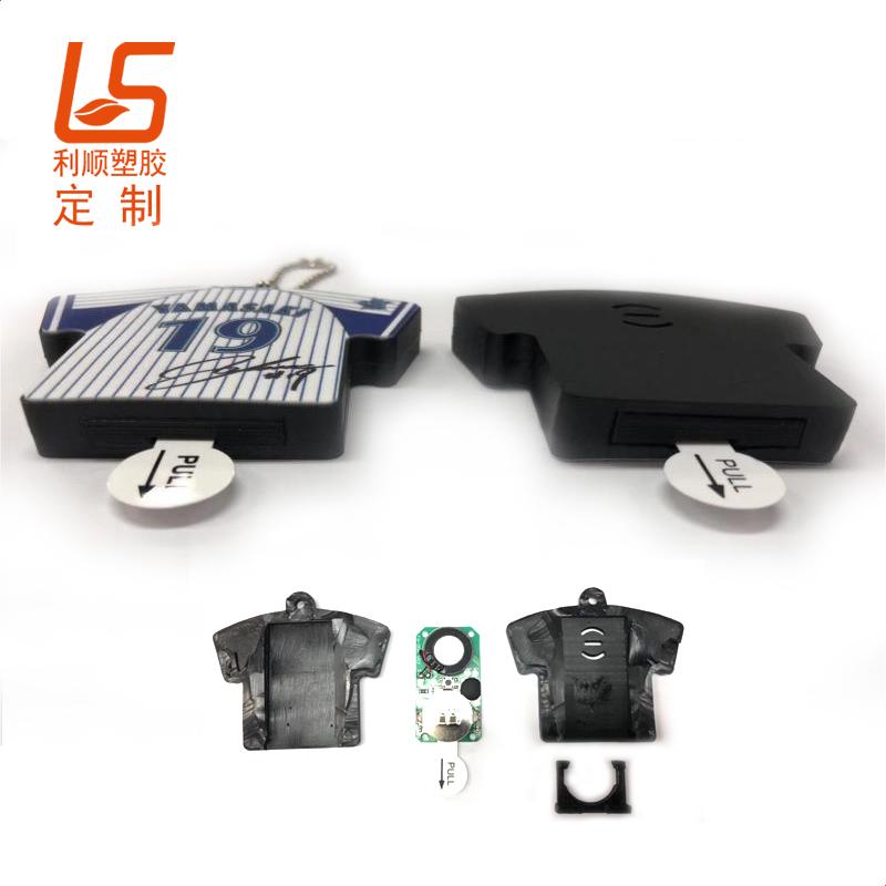 定制硅胶发声钥匙扣 可播放音乐立体公仔