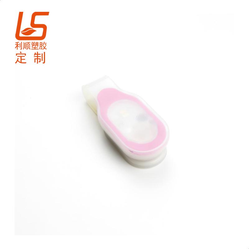 定制硅胶LED背包夹子灯 LED磁吸硅胶夹子灯