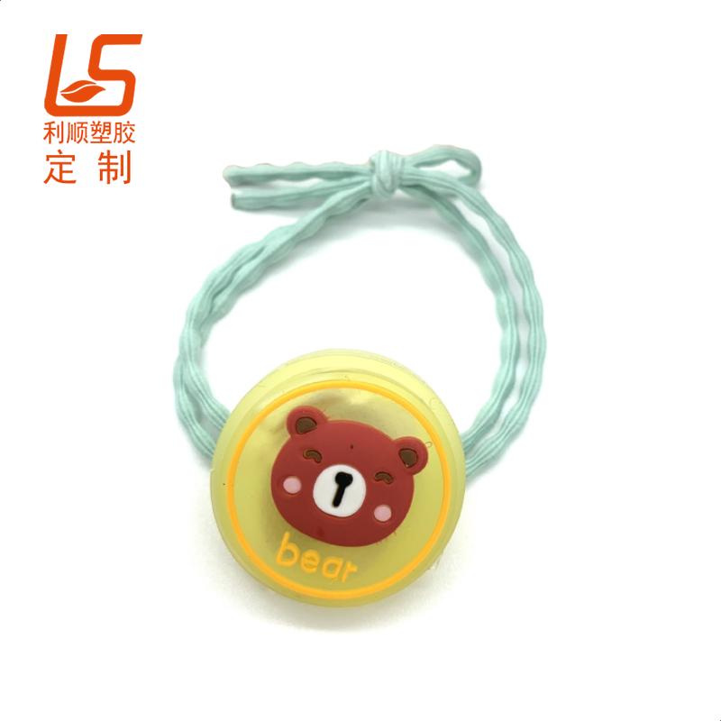 定制儿童LED闪光发带 户外夜间发圈安全警示灯闪光发绳 (2)
