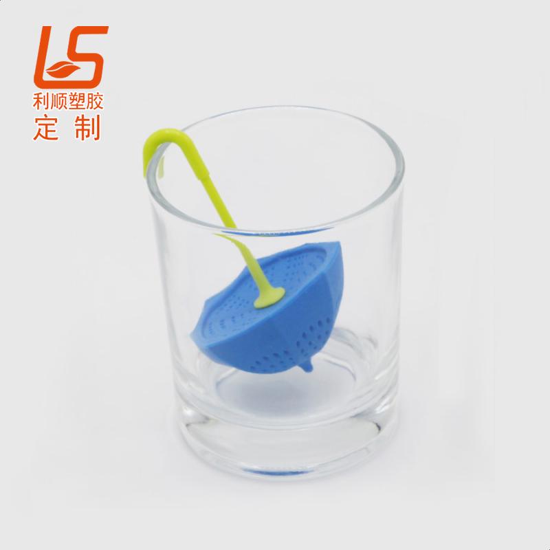 定制食品级硅胶泡茶器 硅胶滤茶器