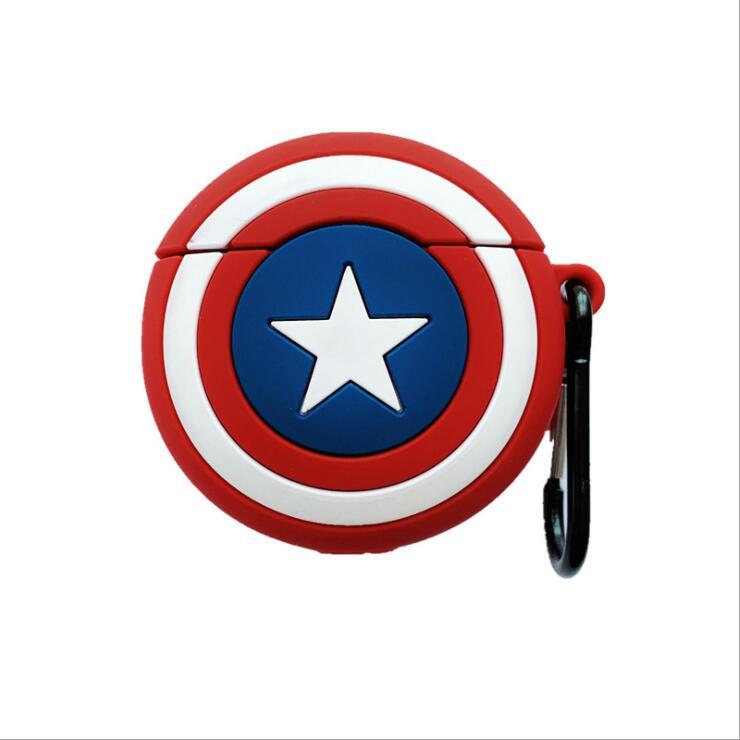 美国队长苹果蓝牙耳机保护套