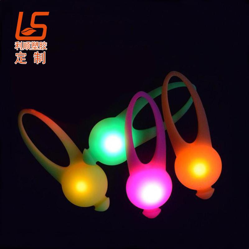 硅胶LED宠物夜间警示灯
