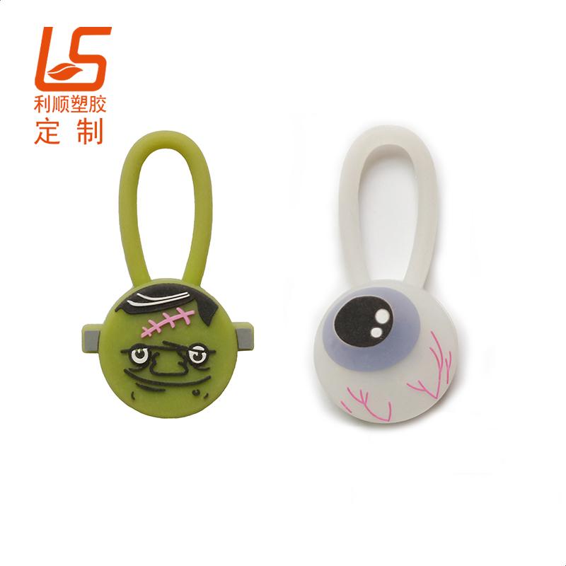 宠物硅胶LED闪灯吊坠宠物LED发光吊坠 (3)