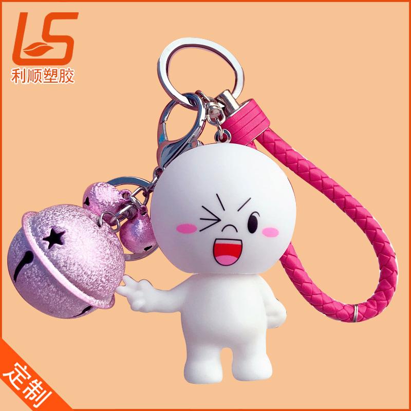 pvc滴胶立体公仔挂件_卡通3D公仔钥匙扣立体公仔挂饰 (1)