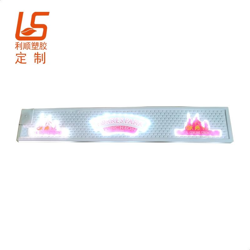 软胶LED发光酒吧垫-吧台垫LED发光酒吧垫
