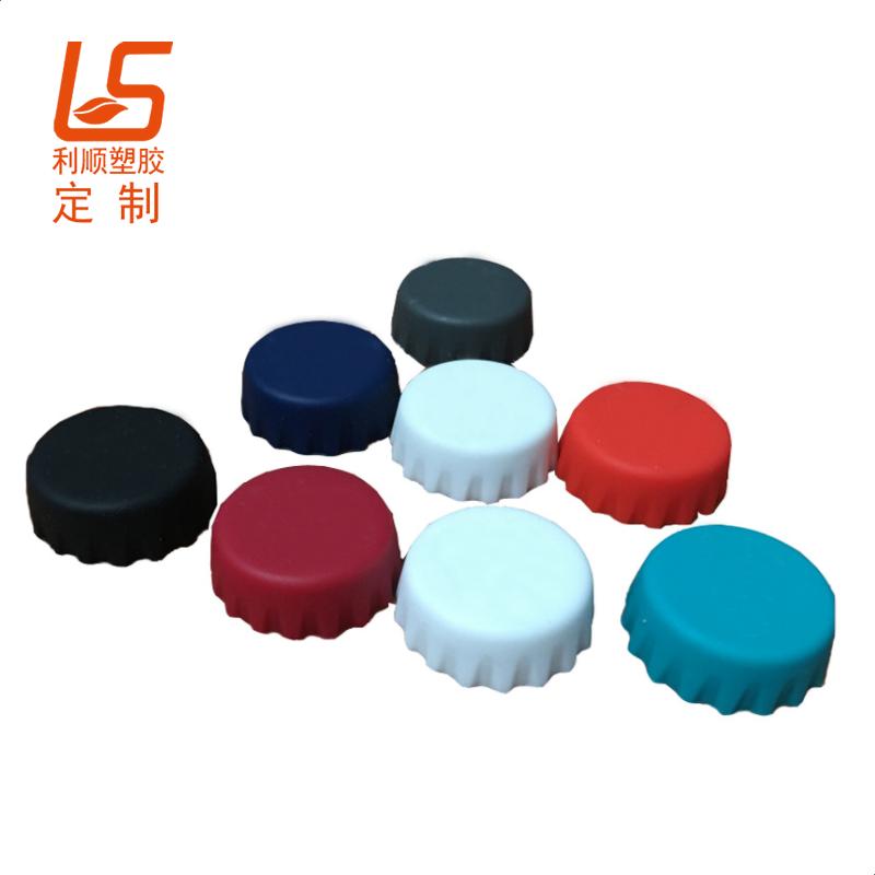 五颜六色的硅胶制品,硅胶瓶盖